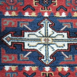 Indo Hand-knotted Kazak Red Wool Rug (3' x 5') - Thumbnail 2