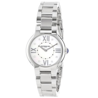 Raymond Weil Women's 5927-ST-00995 'Noemia' Mother of Pearl Face Watch