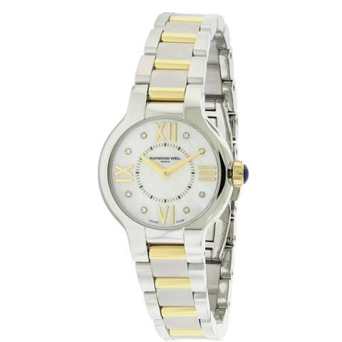 Raymond Weil Women's 'Noemia' Two-tone Diamond Watch
