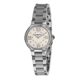 Raymond Weil Women's 'Noemia' Stainless Steel Diamond Watch https://ak1.ostkcdn.com/images/products/5135361/Raymond-Weil-Womens-Noemia-Stainless-Steel-Diamond-Watch-P12981278.jpg?impolicy=medium
