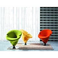 Tulip Microfiber Leisure Chair
