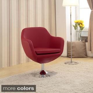 Toledo Swivel Bicast Leather Chair