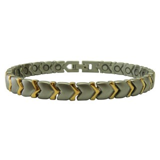 Stainless Steel Arrow Magnetic Bracelet