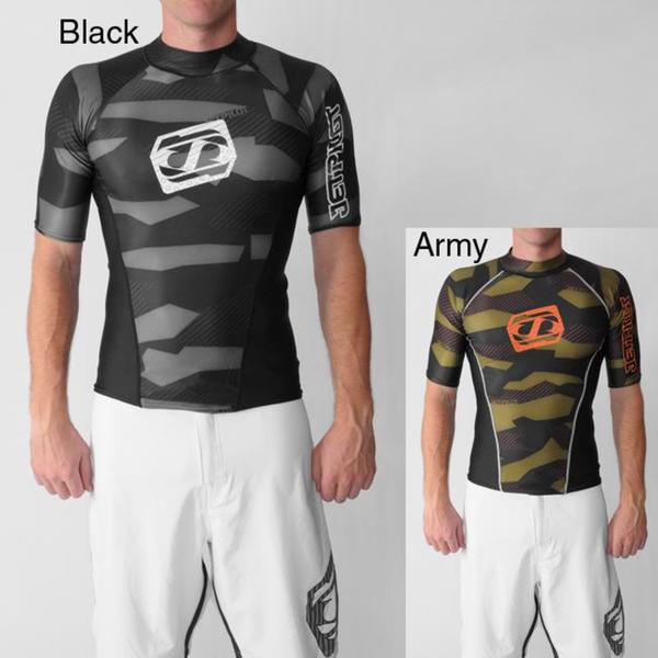 Jet Pilot Mens Camo Lycra Rash Guard
