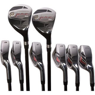 Pinemeadow Men's Pre Hybrid Golf Club Set