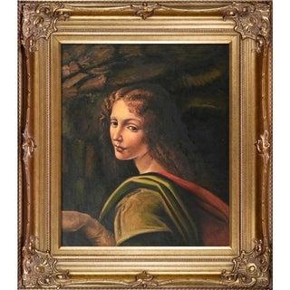 Leonardo Da Vinci 'The Virgin of the Rocks' Canvas Art