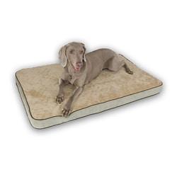 K&H Mocha 18x26-inch Small Memory Pet Sleeper