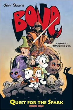 Bone: Quest for the Spark Vol. 1 (Hardcover)