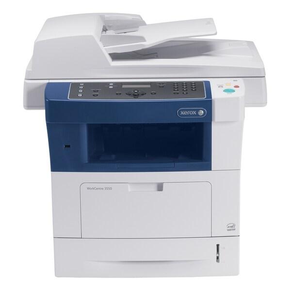 Xerox WorkCentre 3550 Laser Multifunction Printer - Monochrome - Plai
