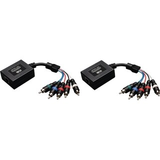 Tripp Lite Component Video with Stereo Audio over Cat5/Cat6 Extender