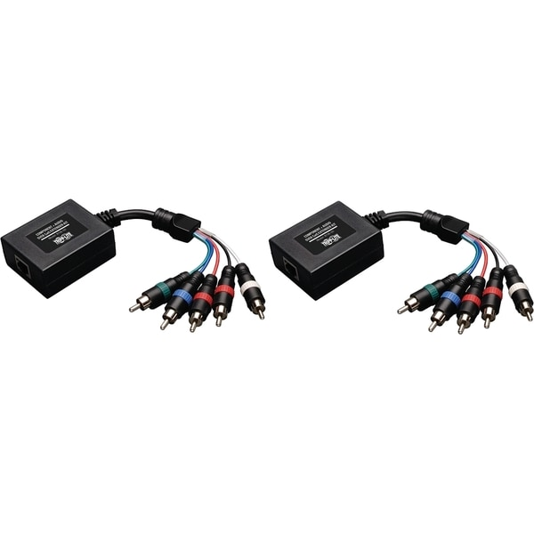 Tripp Lite Component Video with Stereo Audio over Cat5/Cat6 Extender Kit