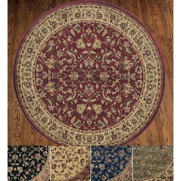 Admire Home Living Caroline Sarouk Oriental Rug (5'3 Round) - 5'3