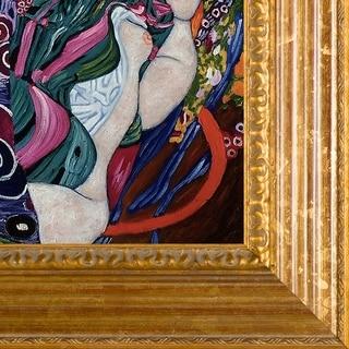 Gustav Klimt 'The Virgin' Canvas Art