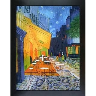 Vincent Van Gogh 'Cafe Terrace at Night' Canvas Art