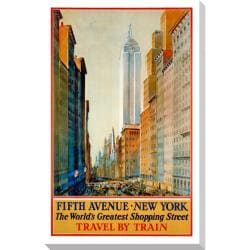 Gallery Direct 'Fifth Avenue' Gallery Wrapped Canvas Art