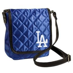 Los Angeles Dodgers Quilted 7-inch Messenger - Thumbnail 1