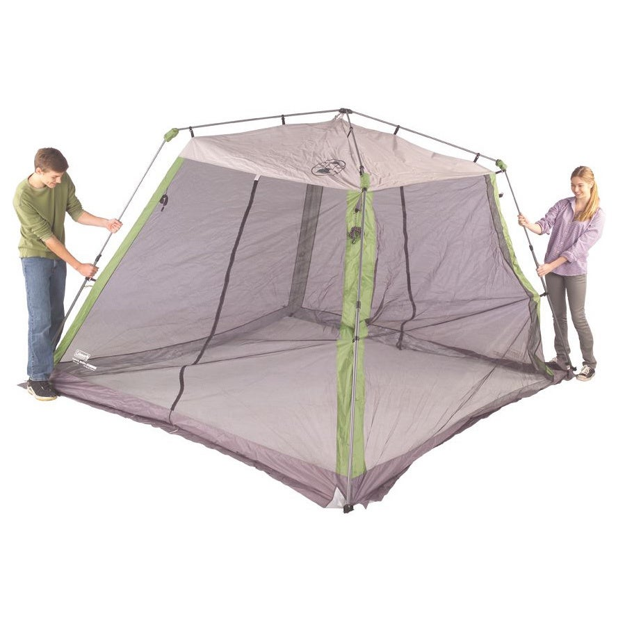 huge discount a490f d5428 Coleman 10x10-foot Instant Screen Shelter - 10' x 10'