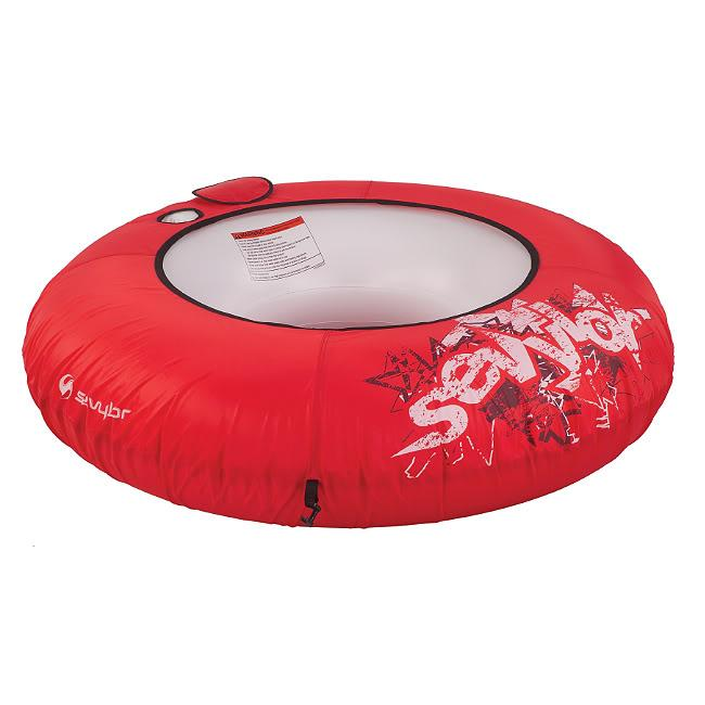 River Tube One-person Covered Inflatable