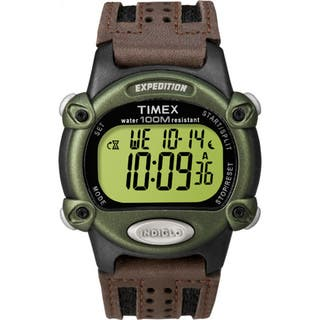 Timex Men's T48042 Expedition Digital CAT Green/Brown Nylon Strap Watch|https://ak1.ostkcdn.com/images/products/5141562/P12986384.jpg?impolicy=medium