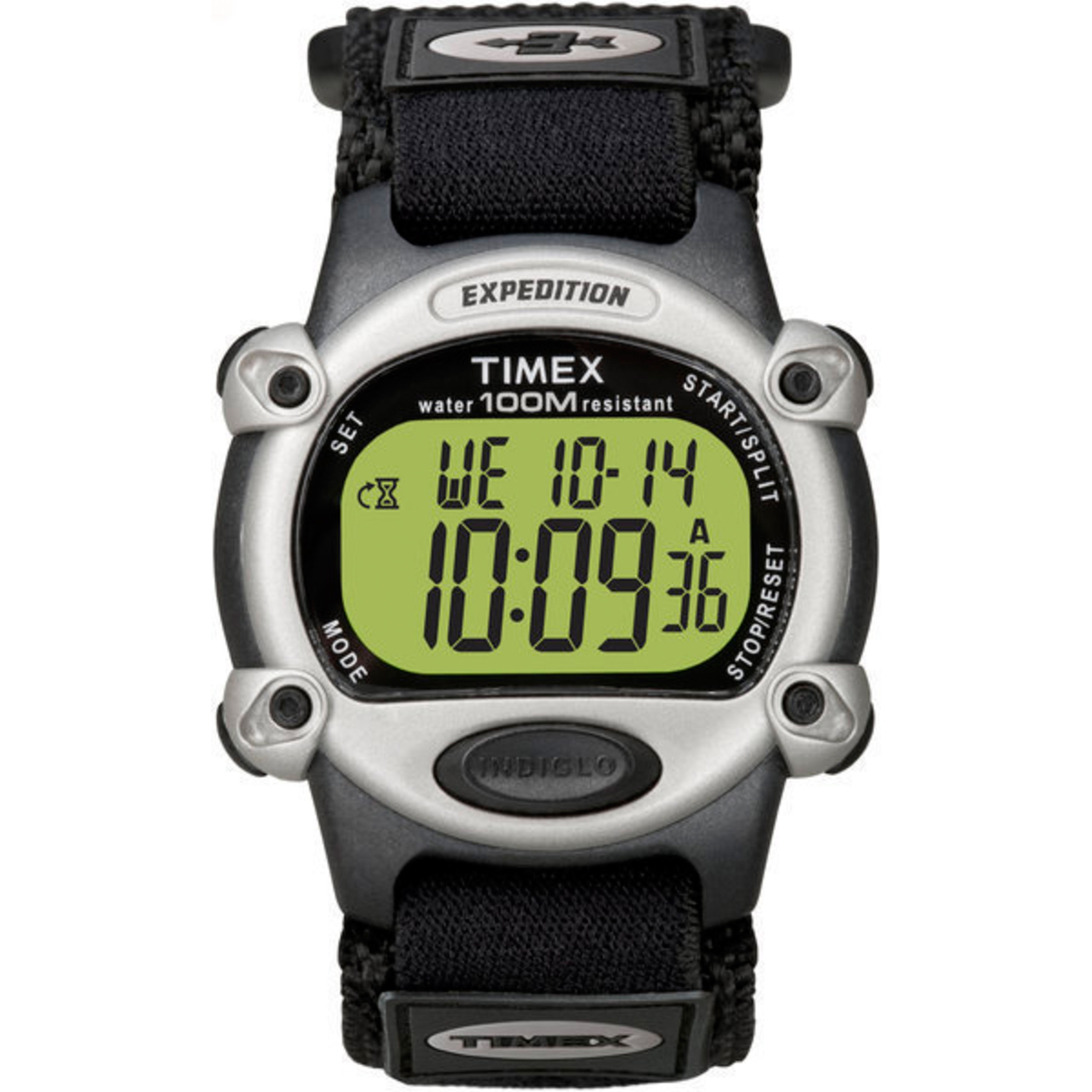 Timex Men's T48061 Expedition Digital CAT Black Fast Wrap...