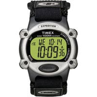 Timex Men's T48061 Expedition Digital CAT Black Fast Wrap Strap Watch