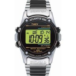 Timex Men's T77517 Atlantis 100 Stainless Steel Bracelet Watch