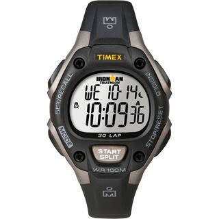 Timex Unisex T5E961 Ironman Traditional 30-Lap Black/Grey Watch https://ak1.ostkcdn.com/images/products/5141573/P12986394.jpg?impolicy=medium