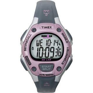 Timex Women's T5K020 Ironman Traditional 30-Lap Pink/Grey Watch https://ak1.ostkcdn.com/images/products/5141577/P12986398.jpg?impolicy=medium