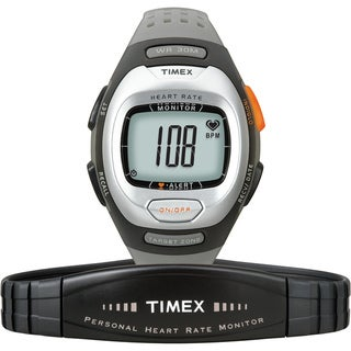 Timex T5G971F5 Unisex Personal Trainer Heart Rate Monitor Grey Watch