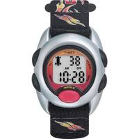 Timex Boys T78751 Time Machines Digital Flames Fast Wrap Velcro Strap Watch