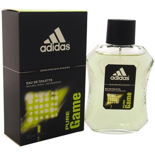 Adidas Pure Game Men's 3.4-ounce Eau de Toilette Spray