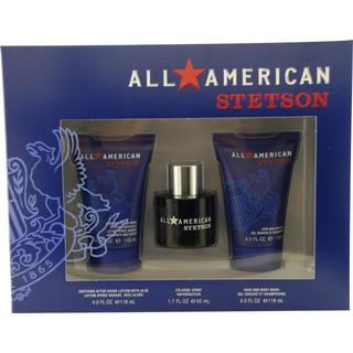 Coty All American Stetson Men's Three-piece Fragrance Set