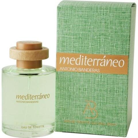 Antonio Banderas Mediterraneo Men's 3.4-ounce Eau de Toilette Spray