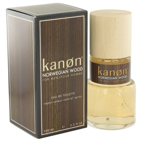 Scannon Kanon Norwegian Wood Men's 3.3-ounce Eau de Toilette Spray