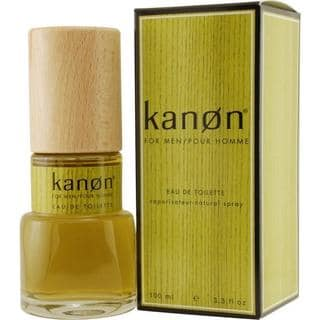 Scannon Kanon Men's 3.4-ounce Eau de Toilette Spray