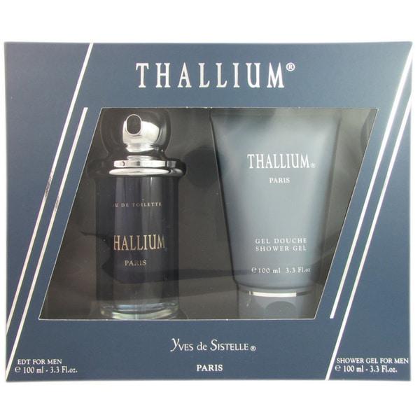 Jacques Evard Thallium Men's 2-piece Fragrance Set