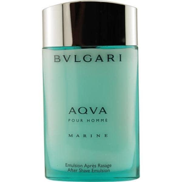 Bvlgari Aqua Marine Men's 3.4-ounce Aftershave Emulsion