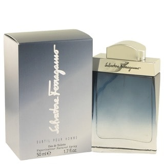 Salvatore Ferragamo Subtil Men's 1.7-ounce Eau de Toilette Spray