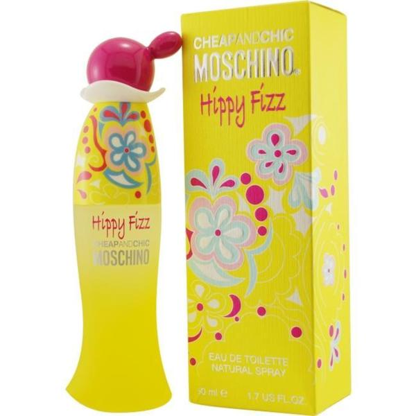 f7c6f1622b45 Shop Moschino Cheap & Chic Hippy Fizz Women's 1.7-ounce Eau de Toilette  Spray - Free Shipping On Orders Over $45 - Overstock - 5142296