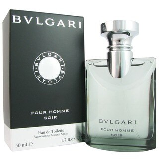 Bvlgari Pour Homme Soir Men's 1.7-ounce Eau de Toilette Spray
