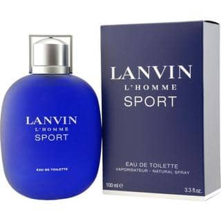 Lanvin L'Homme Sport Men's 3.4-ounce Eau de Toilette Spray|https://ak1.ostkcdn.com/images/products/5142508/P12987222.jpg?impolicy=medium