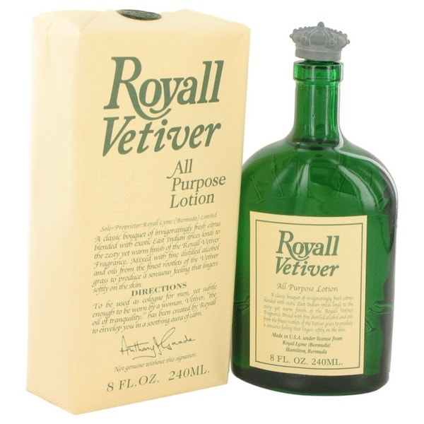 Royall Fragrances Royall Vetiver Men's 8-ounce Aftershave Lotion