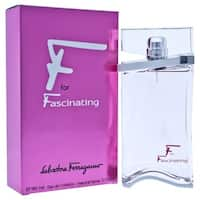 Salvatore Ferragamo F For Fascinating Women's 3-ounce Eau de Toilette Spray