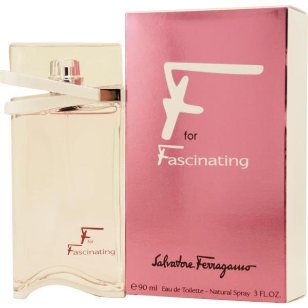 Salvatore Ferragamo F For Fascinating Women's 3-ounce Eau de Toilette Spray
