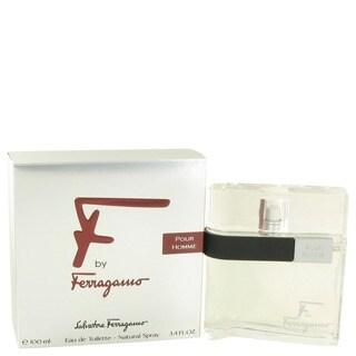 Salvatore Ferragamo F Men's 3.4-ounce Eau de Toilette Spray