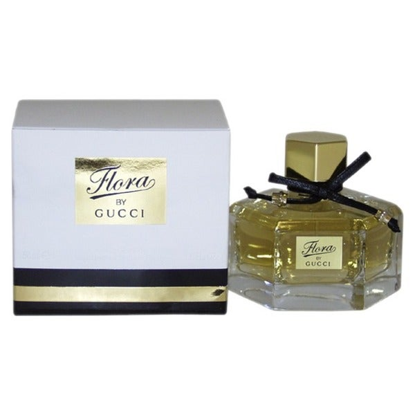 dbd7ec833 Shop Gucci Flora Women's 1.6-ounce Eau de Parfum Spray - Free Shipping Today  - Overstock - 5142762