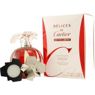 Cartier Delices de Cartier Women's 2-piece Fragrance Set