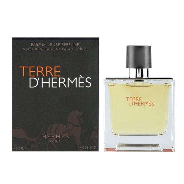 shop hermes terre d 39 hermes men 39 s 2 5 ounce parfum spray. Black Bedroom Furniture Sets. Home Design Ideas