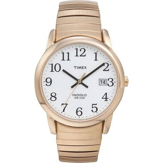 Timex T2H3019J Men's Core Easy Reader Round Goldtone Watch