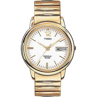 Timex Men's T21942 Elevated Classics Dress Stainless Steel Expansion Band Watch